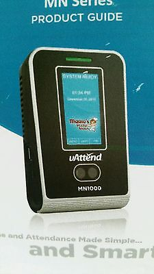 UAttend Facial Recognition Time Clock MN2000