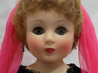"20"" Vintage American Character Sweet Sue Sophisticate Toni Doll Gown"
