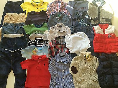 *Baby Boys Clothes/lovely Collection/bundle Of Baby Boys Clothing 9/12 Months*