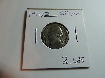 1943 US American Nickel coin A530