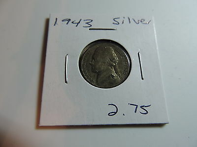 1943 US American Nickel coin A534
