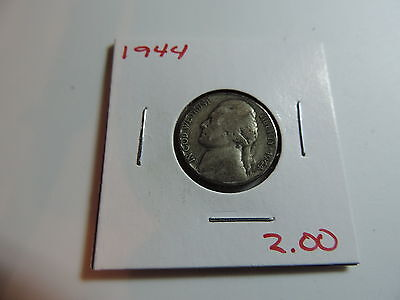 1944 US American Nickel coin A579