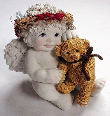 DREAMSICLES Angel With Bear SNUGGLE BUDDIES #DC017 GCC Exclusive Retired