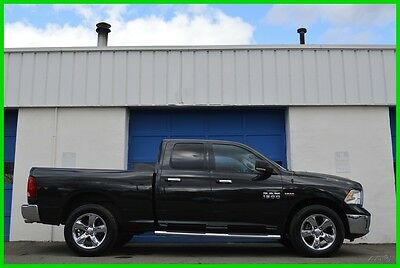 2015 Ram 1500 Big Horn Quad Cab 4X4 4WD Hemi 5.7L 10k Miles Save Repairable Rebuildable Salvage Runs Great Project Builder Fixer Easy Fix Save