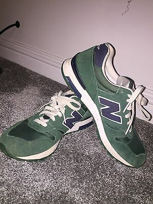 New Balance Green Trainers UK Size 9 Men's - Good Condition