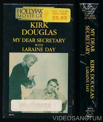 Hollywood Movie Greats Betamax NOT VHS My Dear Secretary 1948 Kirk Douglas L Day