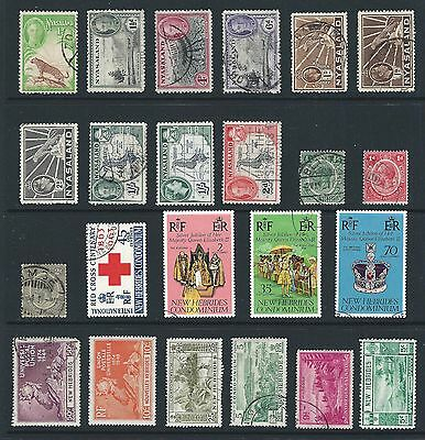 mjstampshobby British Colonies Used Nice Antiques and New (Lot557)