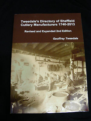 Tweedale's Directory of Sheffield Cutlery Manufacturers 1740-2013