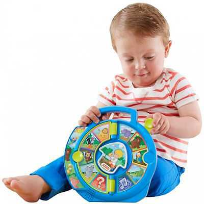 Fisher-Price Animal Baby Learning Toy For Infant Toddler Development With Sound