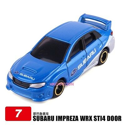 Tomy Tomica  7-1 Subaru Impreza Wrx Sti4 Group R4 Diecast Car Model 800989