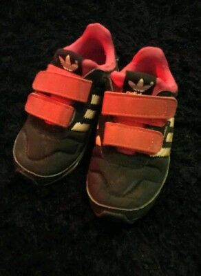 Adidas trainers girls infant Size 6 shoes footwear