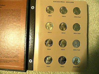 Complete Sacagawea Set 2000 Thru 2016 All Unc. & Proofs 51 Coins Extra Page