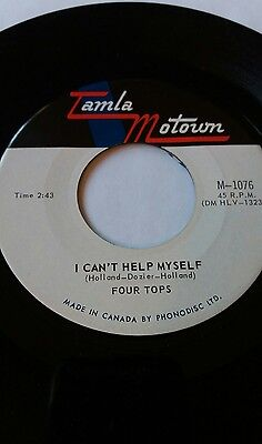 """FOUR TOPS I Can't Help Myself  7"""" rare"""