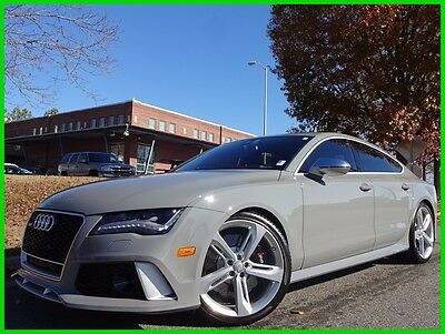 2014 Audi RS7 ONE OWNER CLEAN CARFAX WE FINANCE TRADES WELCOME 4.0L TWIN TURBO V8 SUNROOF NAVIGATION BACKUP CAMERA BLUETOOTH BOSE SOUND NARDO