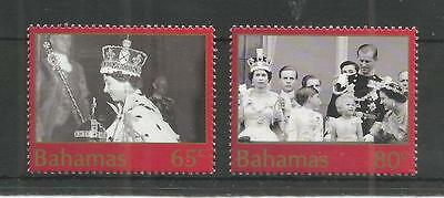 Bahamas 2003 50Th Anniv Coronation Sg,1315-1316 U/m Nh Lot 2682A