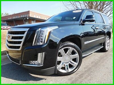 2016 Cadillac Escalade LUXURY 4WD 1-OWNER/ CLEAN CARFAX NAVIGATION 360 VIEW BACK UP CAMERA HEADS UP DISPLAY WE FINANCE TRADES WELCOME!!!