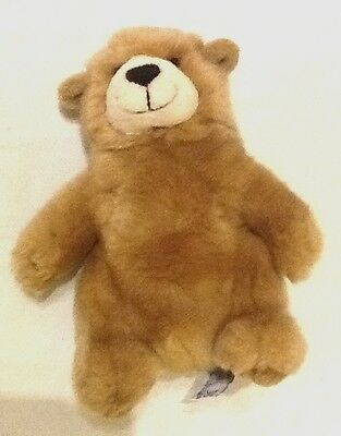 Russ Berrie 7 Inch Charmin Brown Beanie Bear Excellent Condition