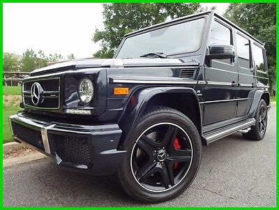 "2015 Mercedes-Benz G-Class G63 AMG BITURBO V8 BLUETOOTH NAVIGATION BACKUP CAM HARMAN KARDON SOUND SUNROOF 20"" WHEEL"