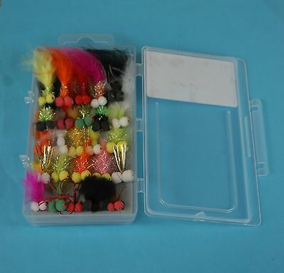 25x Boobies, Fly Fishing Flies, Sizes 10/12, Complete With Box!