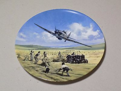 Royal Doulton Collectable WWII Plate Hurricane Victory Pass Heroes of the Sky