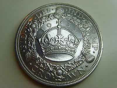 1933 Silver Wreath Crown King George V British Coin Great Britain