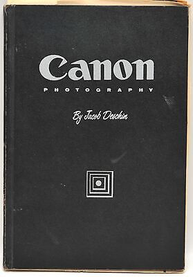 Canon Photography by Jacob Deschin 1957 1st Edition