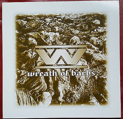 :wumpscut: :Wreath of Barbs: (barbed vinyl edition) Limited Edition