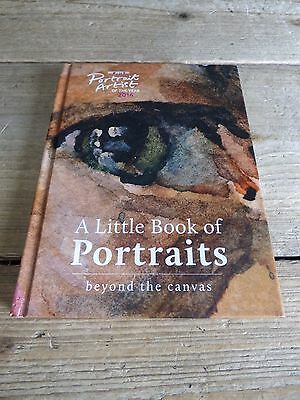 A Little Book Of Portraits Beyond The Canvas Hardback Art Book