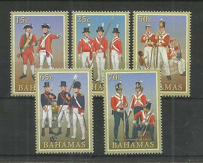 Bahamas 2008 Military Uniforms Sg,1485-1489 U/m Nh Lot 2691A