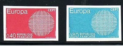 France - 1970 - Europa - Imperf- Mnh - Michel 1710-11