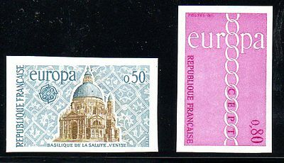 France - 1971 - Europa - Imperf- Mnh - Michel 1748-49