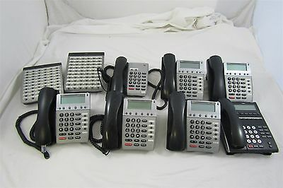 Lot of 8 NEC Dterm IPK Business Office Telephones ITH-4D-3 Untested