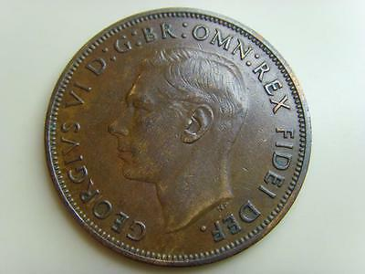 1950 PENNY 1d KING GEORGE VI BRITISH COIN GREAT BRITAIN ONE PENCE