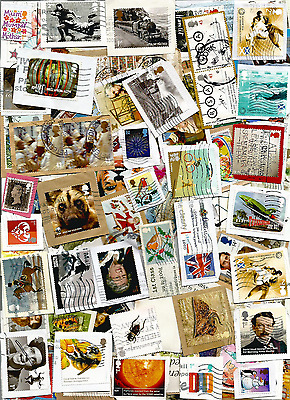 25g up to Modern recent british GB commemoratives issues-used-on paper kiloware
