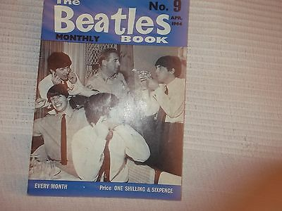 The Beatles Monthly Book Number 9 April 1964