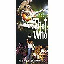 THE WHO ~ THIRTY YEARS OF MAXIMUM R 'n' B ~ 4 x CD BOX SET