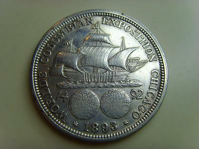 1893 Usa Columbian Exposition Half Dollar United States Coin Chicago