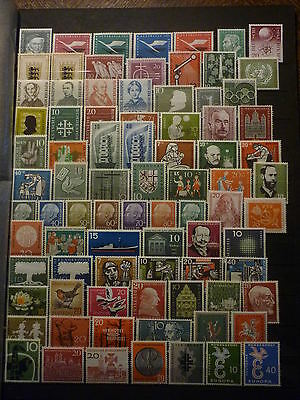 ALLEMAGNE FEDERALE LOT 140 TIMBRES NEUFS** COTE +400 euros