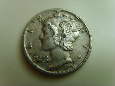 1944 Usa Dime Ten Cents Mercury Head United States Of America Coin