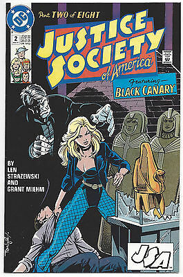 Justice Society of American #2 (NM) 1991