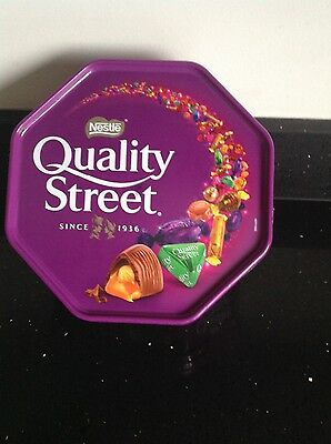 Quality street nestle 750g tub best before 30/06/2016
