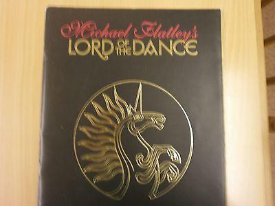 Michael Flatley, Lord of the Dance, Programme.