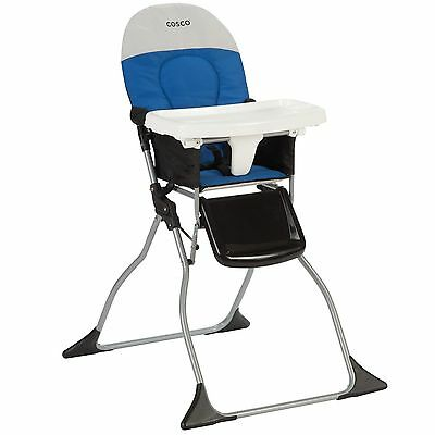Infant Feeding Portable Baby Chair High Compact Folding Seat Convertible Toddler