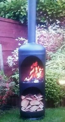 Gas bottle log burner, wood burner,firepit, chimnea