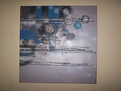 Picture, Painting, Oil Painting, Abstract Artwork, Swirls, Circles