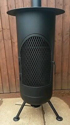 Gas bottle log burner , wood burner , firepit, chimnea