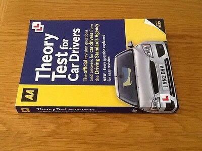 AA theory test fo car drivers book