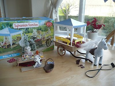 sylvanian families Pony and Trap Boxed
