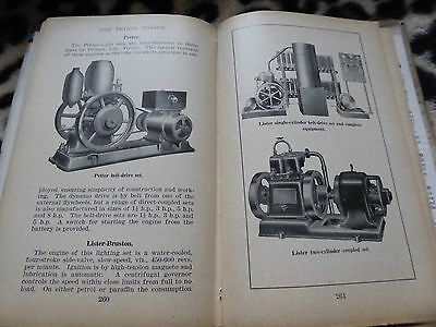 1920S Stationary Engines Book On The Petrol Engine Generators Trucks Jap Delco++