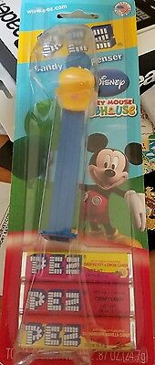 Disney's MICKEY MOUSE CLUBHOUSE  Pez Dispenser   DONALD DUCK